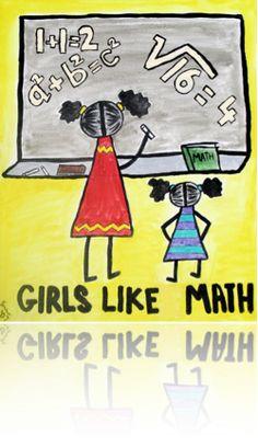 girls like math