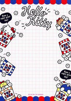 Sanrio Hello Kitty 144-Sheet Memo (2016) | Available while s… | Flickr Sanrio Wallpaper, Hello Kitty Wallpaper, Cute Notes, Good Notes, Sanrio Hello Kitty, Hello Kitty Vans, Memo Template, Memo Notepad, Note Doodles