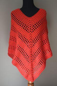 Crochet poncho 299137600241445292 - Versatile Crochet Poncho Pattern More Source by benedictejossel Crochet Scarves, Crochet Shawl, Crochet Clothes, Easy Crochet, Crochet Stitches, Knit Crochet, Crochet Patterns, Crochet Dresses, Crochet Sweaters