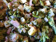 broccoli e patate con cipolle #ricettedisardegna #sardegna #sardinia #food #recipe #cucinasarda