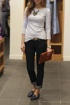 such a great weekend outfit // Lilly's Style: J Crew style session looks