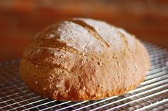 How To Make Bread -- this is a great tutorial for making artisan bread by hand from start to finish
