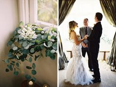Laura & Bart on Style Me Pretty Florals: Sweet Marie Designs Photography: Ashley Kelemen Photography