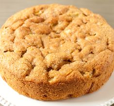 Bramley apple cake. Bramley apples make this apple cake deliciously moist and fruity, by Food Heaven