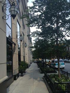 Walton Street, Waldorf Astoria Chicago. August 2012.