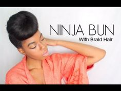 4 Simple Faux Bun Styles For Any Natural Hair Length | Black Girl with Long Hair