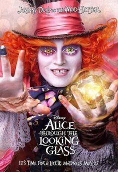 Cine Series: Nuevos carteles y tráiler de la pelicula 'Alice Through the Looking Glass'