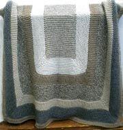 garter stitch throw free pattern