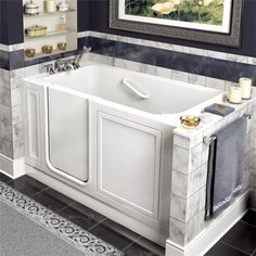 American Standard 2651.110.W Walk In Whirlpool tub