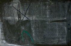 GRAND ARTIST Antoni Tàpies (1923-2012) Peinture verte, 1954