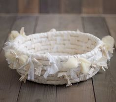 HEAVEN'S NEST BASKET newborn nest photo prop. newborn by Mamamada