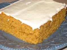Pumpkin Gooey Chess Squares Recipe - Baking.Food.com