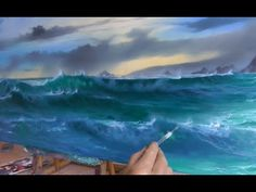 Painting over an old Painting by Alan Kingwell - YouTube