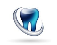 Logotipo moderno do dentista Imagem de Stock Royalty Free