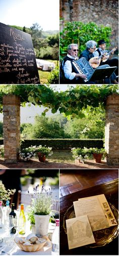 Rustic Italian style #wedding #Okanagan