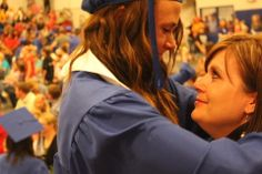 I love my mom so much. Graduation was hard for both of us.