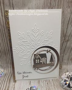 Stampin Up hearts come home winter wonder Christmas Cards 2018, Christmas Punch, Christmas Card Crafts, Stampin Up Christmas, Noel Christmas, Xmas Cards, Christmas Greetings, Handmade Christmas, Holiday Cards