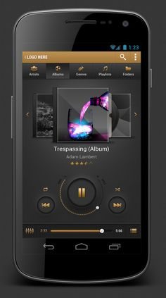 Android Music Player App