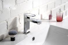 GLAM stojánková umyvadlová baterie nízká, bez výpusti, chrom : SAPHO E-shop Water Faucet, Faucets, Sink, Design, Home Decor, Taps, Sink Tops, Griffins, Vessel Sink