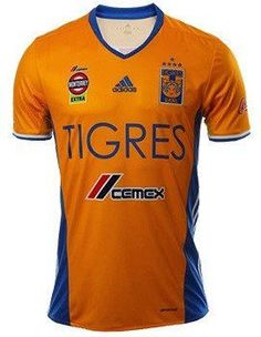 TIGRES UANL Five Stars 2016/17 Home Men Jersey Personalized Name and Number
