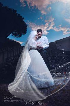 #nancyavon from www.bit.ly/jomfacial Sharing a light moment with your love dear! Dream's wedding by oguzhanyavuz