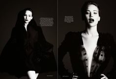 HARPER'S BAZAAR UK- Jennifer Lawrence in Playing The Game by Ben Hassett. Julia von Boehm, November 2013, www.imageamplified.com, Image Ampl...
