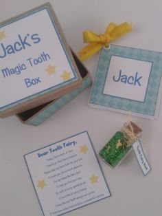 Magic Tooth fairy Box - The Supermums Craft Fair Tooth Fairy Box, Crafts To Make, Diy Crafts, Tin Containers, Magic Box, First Tooth, Craft Fairs, Gifts For Kids, Teeth