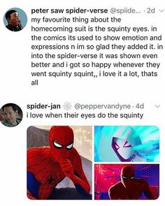 I think it's so funny and the absolute deadpan of tr expression is awesome Marvel Memes, Marvel Dc Comics, Marvel Avengers, Tom Holland, Shuri Black Panther, Spiderman, Loki, Spideypool, Spider Verse