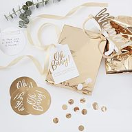 Home Decor Bohemian Oh Baby Shower Game - Pass the Present by EnFete on Etsy.Home Decor Bohemian Oh Baby Shower Game - Pass the Present by EnFete on Etsy Deco Baby Shower, Baby Shower Party Games, Gold Baby Showers, Baby Party, Baby Boy Shower, Party Fun, Gold Party, Ideas Party, Game Ideas