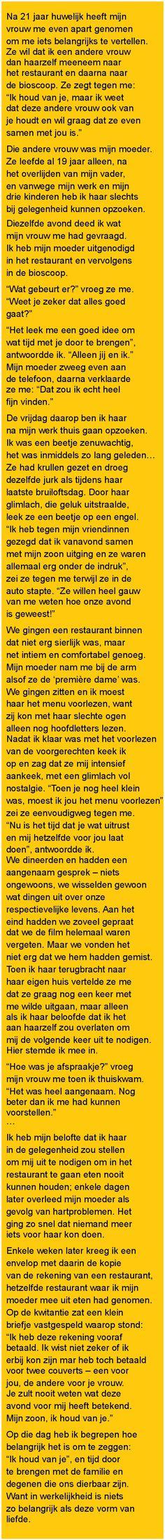 Na 21 jaar huwelijk heeft - Zieer.nl