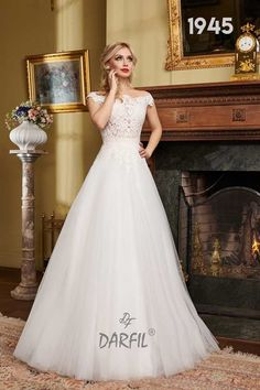 Off the shoulder lace ball gown wedding dress with a boat style neckline. The open back features illusion lace which creates a tattoo effect, oozing sexiness. Gown Wedding, Wedding Bride, Wedding Dresses, Create A Tattoo, Boat Fashion, Lace Ball Gowns, Flowy Skirt, Princess Style, Floral Lace