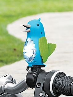 $25 is crazy and I love my bell but the Sweet Tweet- Bicycle light, bike horn  might just drive Dave nuts