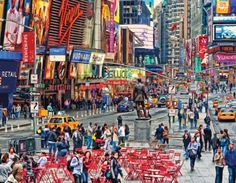 Larger Piece Puzzles are one of the hottest categories on the Simple Pastimes site. Check out this great view of Times Square New York. 300 Larger Pieces for only $16.95