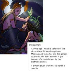 Find and save ideas about Medusa story on Pinterest.