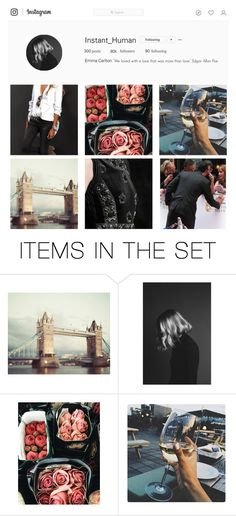 """""""Emma's Instagram"""" by anna-fozo ❤ liked on Polyvore featuring art"""