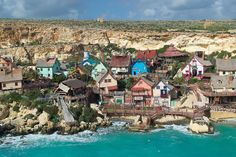 Popeye Village, Malta | Bored Panda
