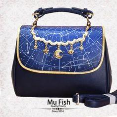Mu Fish ~Constellation~ bag