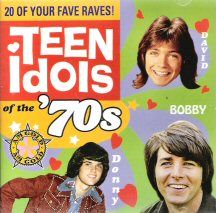 Donny Osmond, David Cassidy and Bobby Sherman.....I loved these guys