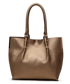 Look at this #zulilyfind! Champagne Gold Antoinette Shoulder Bag by MKF Collection #zulilyfinds
