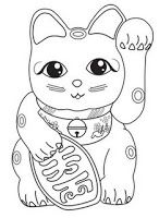 Super doll crafts for kids pictures Ideas New Year Coloring Pages, Cat Coloring Page, Colouring Pages, Coloring Books, Chinese New Year Crafts For Kids, Chinese Crafts, New Year's Crafts, Doll Crafts, Japan For Kids