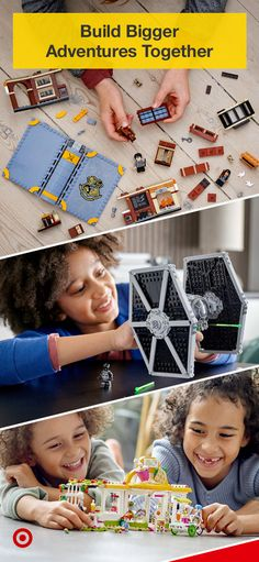 There's nothing more exciting than having a hands-on experience building something you love. Shop LEGO Harry Potter, LEGO Star Wars & LEGO Friends sets & create something special together. New at Target. Diy Arts And Crafts, Diy Crafts For Kids, Baby Disney Characters, Scrap Yarn Crochet, Nerdy Valentines, Lego Friends Sets, Barbie Doll Set, Shop Lego, Lego Craft
