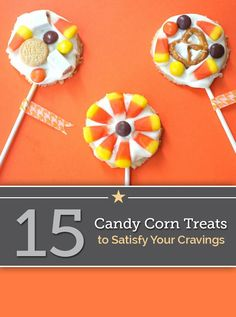 15 Crazy Candy Corn Treats to Satisfy Your Cravings | thegoodstuff
