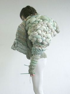 I love this, Huge chunky knit is really inspiring me at the moment. Creative envy
