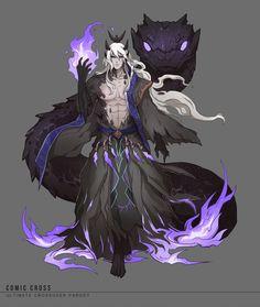 40 ideas for concept art character design fantasy demons Fantasy Kunst, Anime Fantasy, Dark Fantasy Art, Fantasy Artwork, Fantasy Character Design, Character Design Inspiration, Character Concept, Character Art, Concept Art