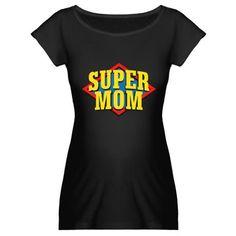 SUPERMOM Maternity Dark T-Shirt