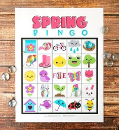 New easter art projects for kids free printables 51 Ideas Art Games For Kids, Bingo For Kids, Toddler Art Projects, Projects For Kids, Spring Words, Classroom Games, Easter Art, Spring Activities, Learning Activities