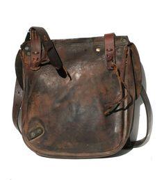 Vintage Brown Leather Strap bag2, via Etsy.