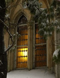 And there in the golden candlelight, a winter's tale was told....