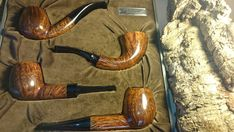 RARE!!!4 S.Bang Pipes in a Box.Made in Denmark Copenhagen.SVEND BANG.RARE!!!