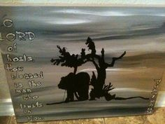 Blessed is the Man by stephaniecherry on Etsy, $20.00